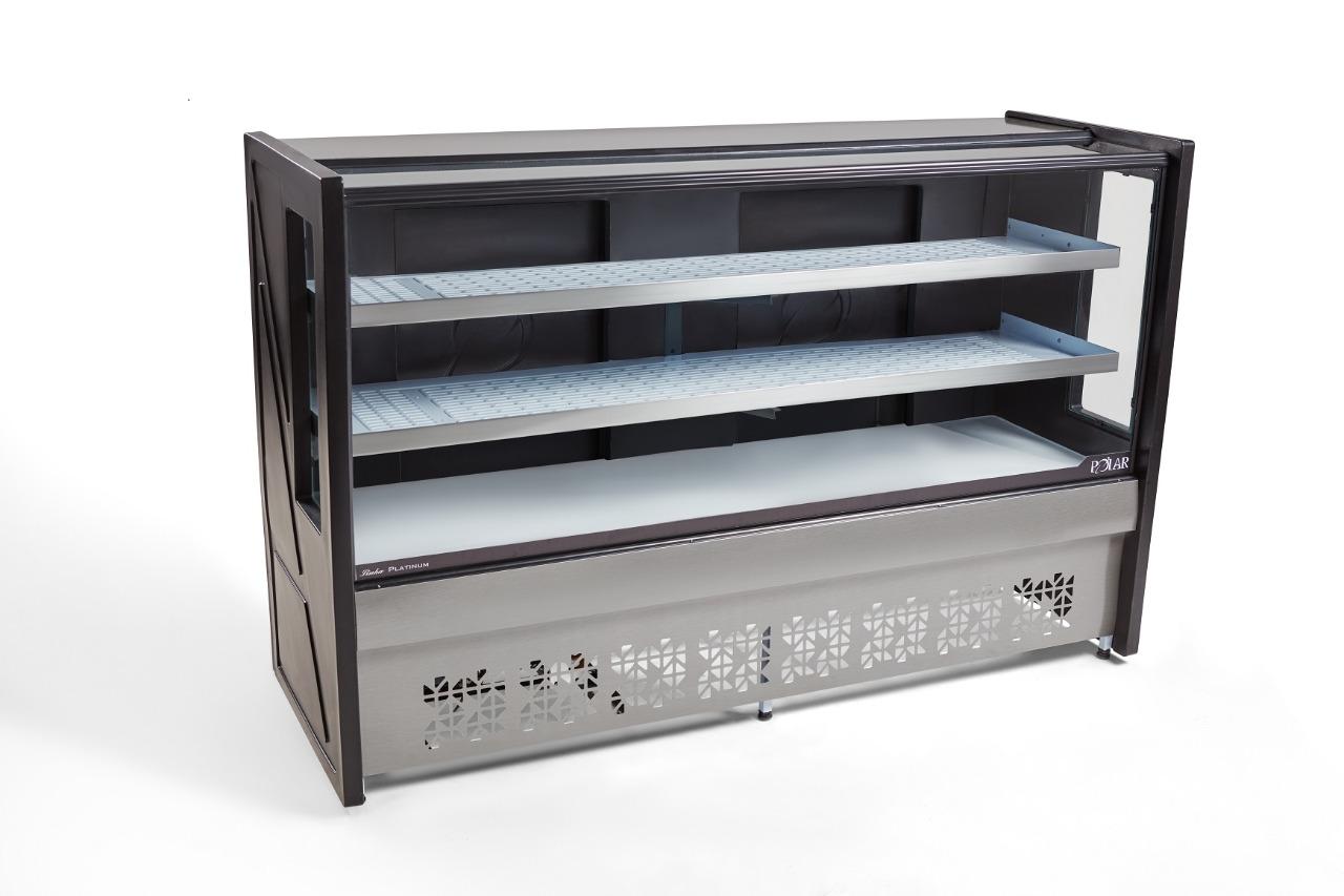 Balcão Refrigerado Linha Platinum 1 Placa Fria Polar PBR