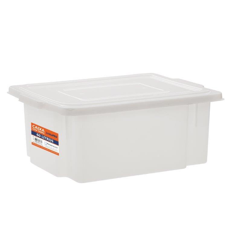Caixa Plástica Paramount Frigorífica 60 litros com Tampa 539