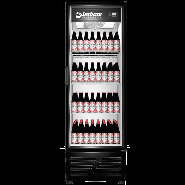 Cervejeira 522 litros Porta de Vidro Imbera Preta CCV355C