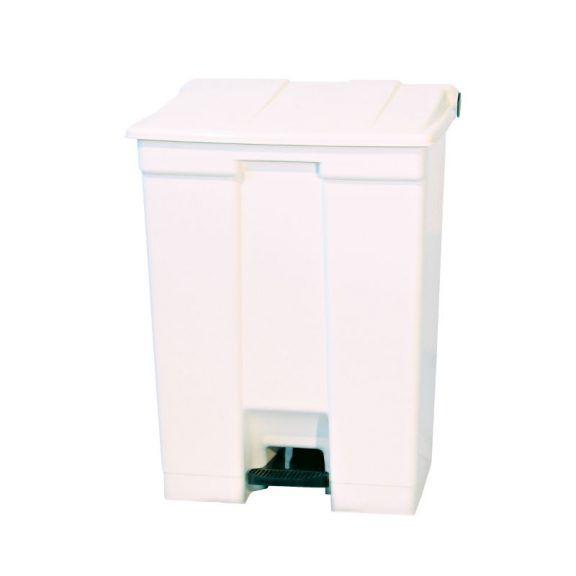 Coletor de Resíduos Bralimpia 60 litros com Pedal Branco