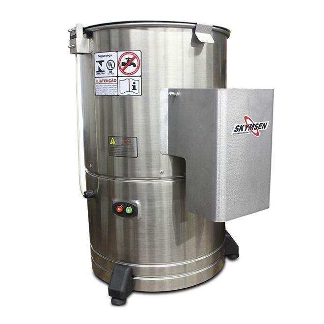 Descascador de Batatas DB-10 Inox Capacidade 10kg - Skymsen