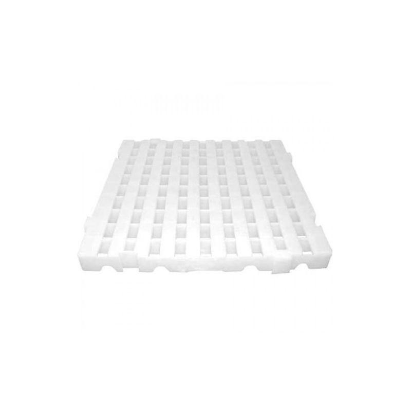 Estrado Plástico Bolivar 50x50 cm Branco