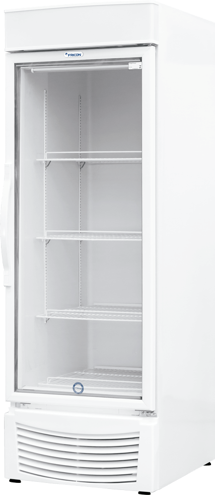 Expositor Conservador / Refrigerador Vertical Dupla Ação Fricon 565 Litros Porta de Vidro VCED-565L