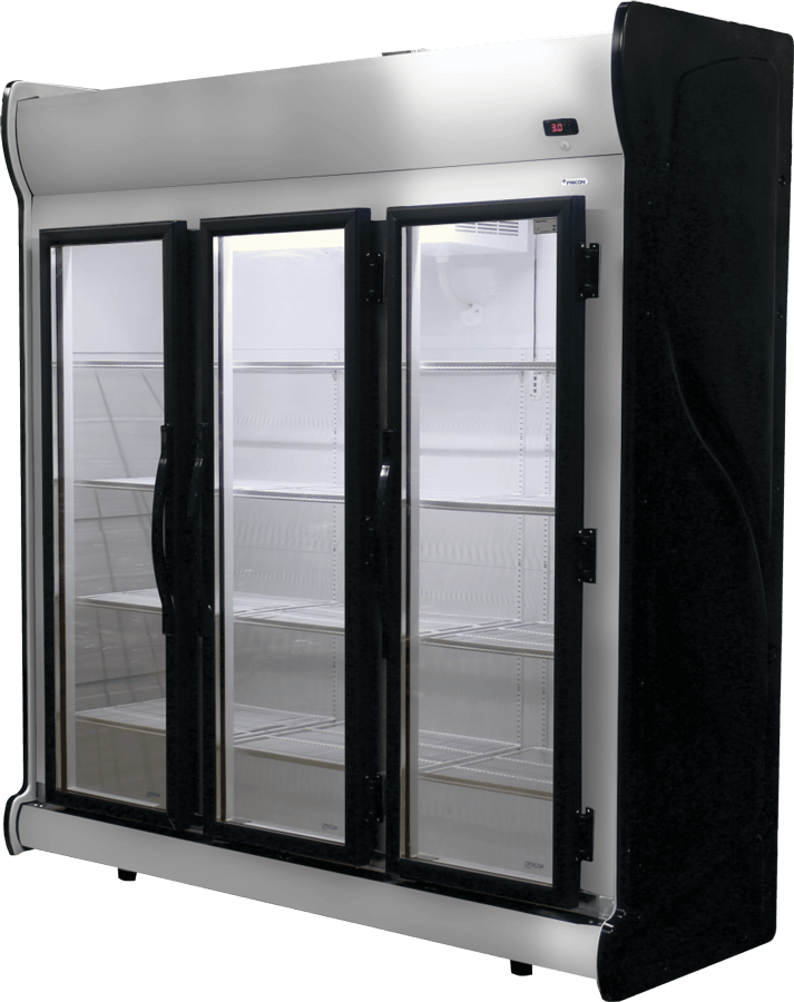 Expositor Refrigerado Vertical Fricon 3 Portas 1.450 Litros Porta de Vidro ACFM-1450