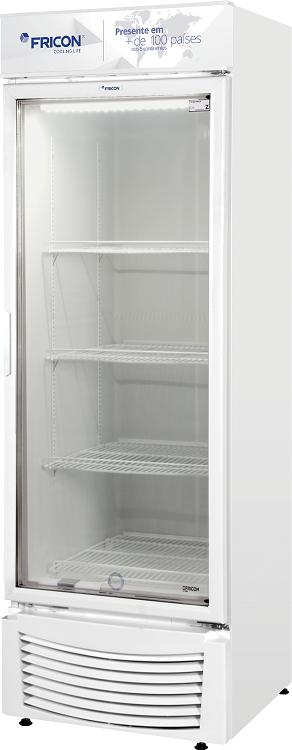 Expositor Refrigerado Vertical Fricon 431 Litros Porta de Vidro VCFM-431V