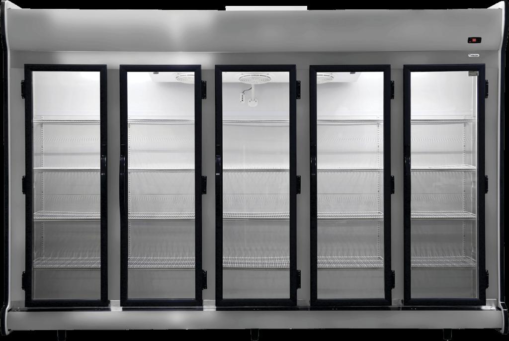 Expositor Refrigerado Vertical Fricon 5 Portas 2.375 Litros Porta de Vidro ACFM-2375