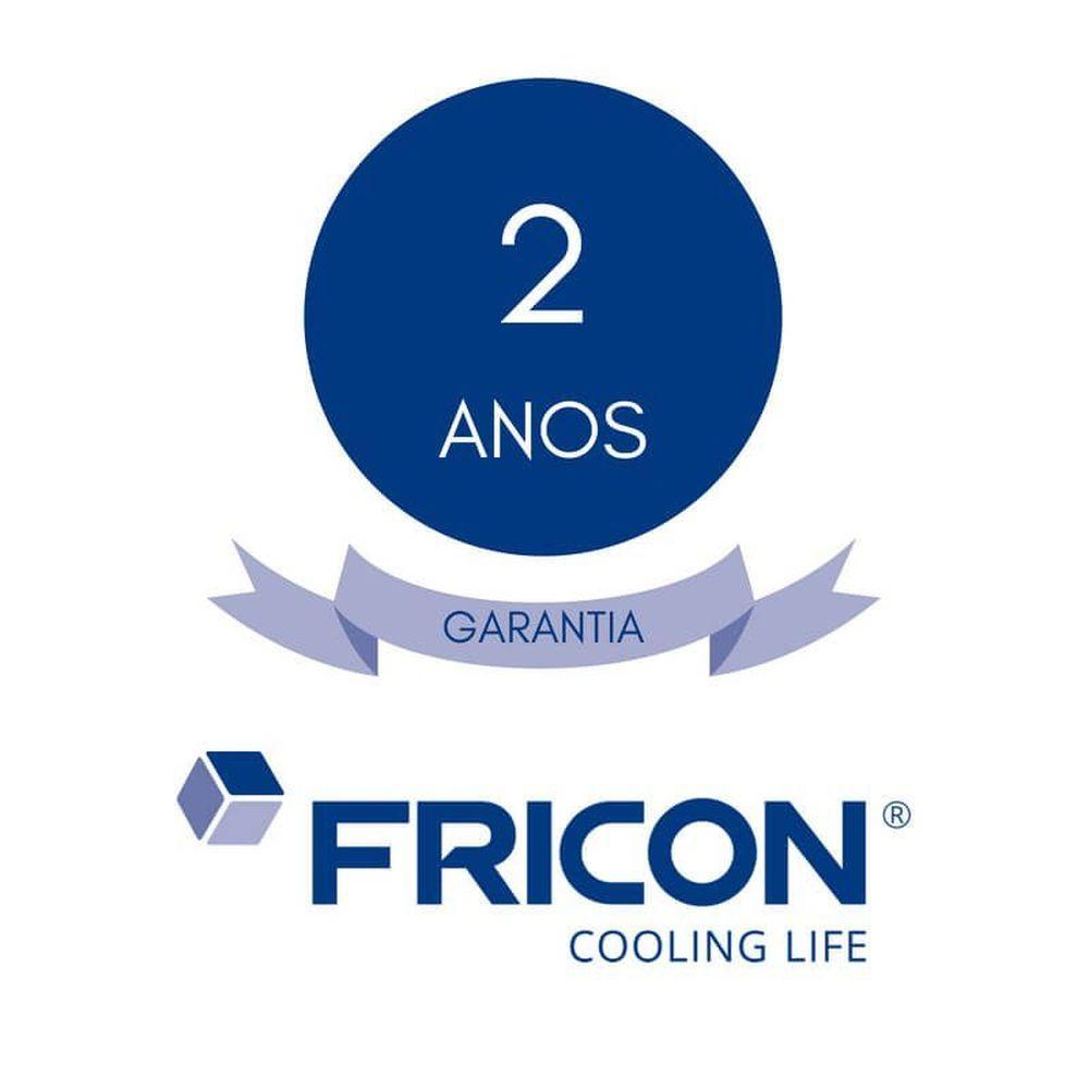 Freezer Horizontal Dupla Ação Tampa de Vidro 216 Litros Fricon - HCEB 216