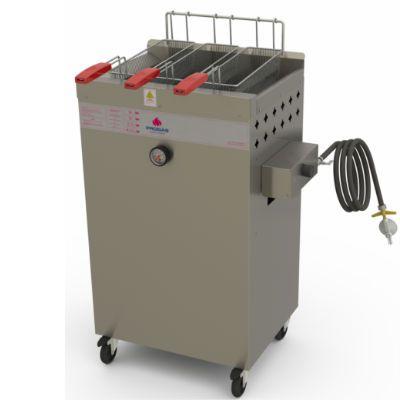 Fritador Água e Óleo a Gás Progás 20 Litros Fry Fritter PR2000BPG