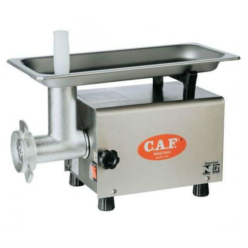 Picador de Carne CAF Boca 8 Inox Bivolt