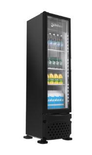 Refrigerador Vertical 230 litros Porta de Vidro Imbera Preto VRS08