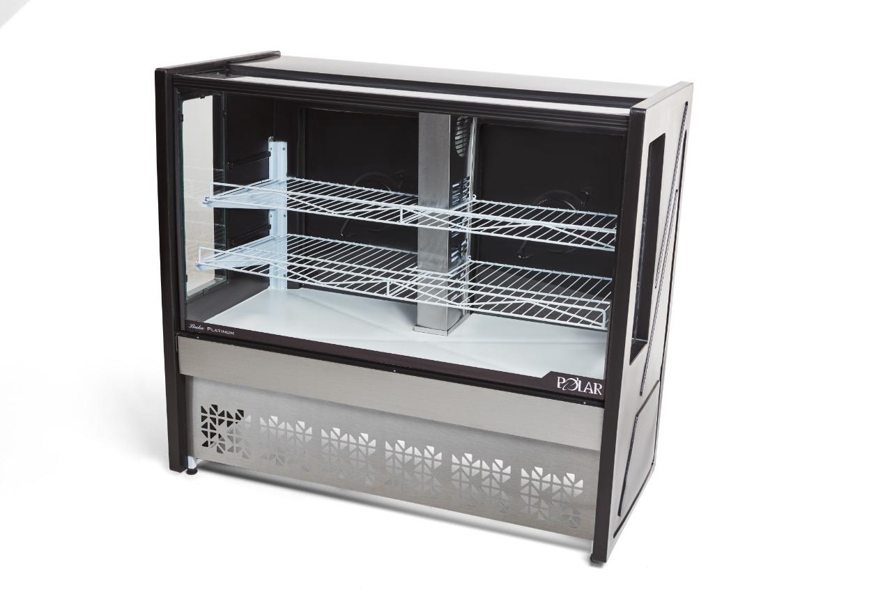 Vitrine Refrigerada para Torta Linha Platinum Polar PVRT
