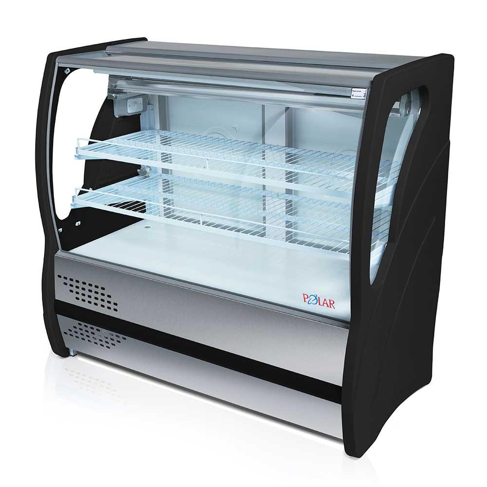 Vitrine Refrigerada para Tortas Vidro Curvo 1,25m Polar