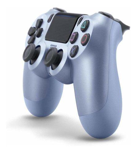 Controle PS4 Sony Dualshock 4 Titanium Blue