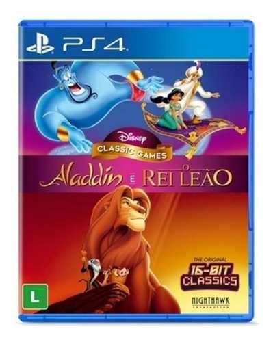 Jogo Disney Classic Games: Aladdin + O Rei Leão - PS4