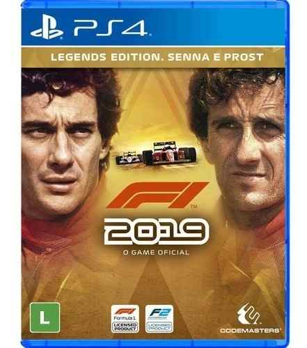F1 2019 Legends Edition Senna E Post - PS4