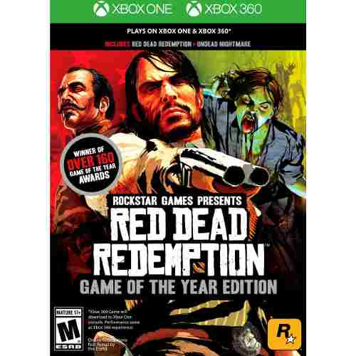 Red Dead Redemption Game Of The Year Edition Xbox360