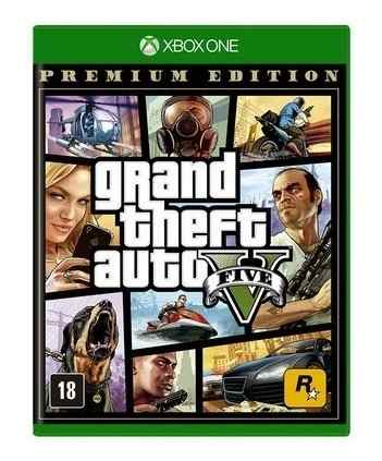 Jogo Grand Theft Auto Gta V (Premium Online Edition) Xbox One