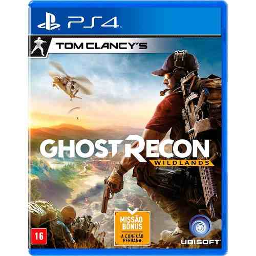 Jogo Tom Clancys Ghost Recon Wildlands PS4