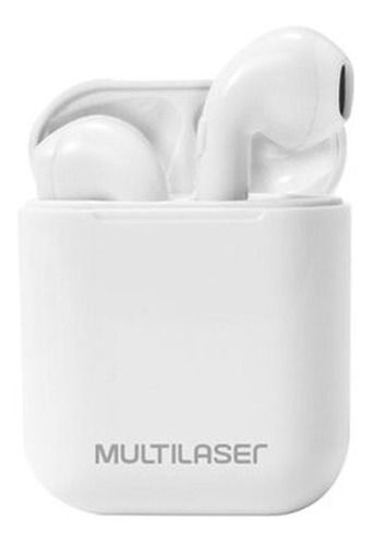 Fone De Ouvido Multilaser Ph326 Bluetooth Tws Airbud Branco
