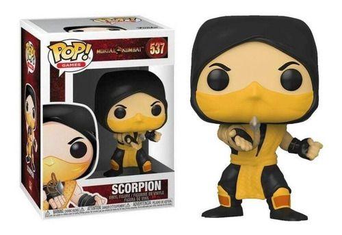 Funko Pop - Scorpion Número 537 - Game Mortal Kombat