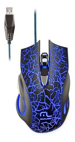 Mouse Gamer Lightning 6 Botoes Led 2400dpi Mo250 Multilaser Anúncio com variação