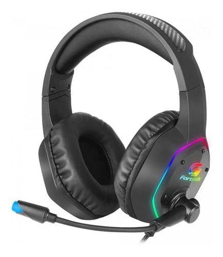 Headset Gamer Rgb Blackfire Preto Fortrek Com Adaptador P3