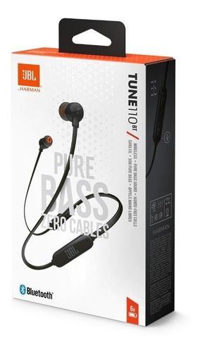 Fone Ouvido Jbl Tune 110 Bt Bluetooth