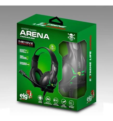 Headset Gamer Arena - Hgar ELG Com Adaptador P3