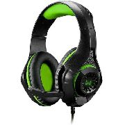 Headset Gamer Warrior Ph299 Rama P3usb Stereo Adaptador P2