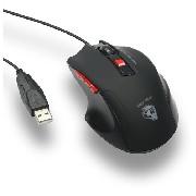 Mouse Gamer Nightmare ELG Óptico 5.0g 6 Botões 4000 Dpi