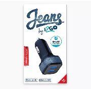Carregador Veicular 3.4amps 2usb Jeans I2GO