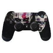 Adesivo P/ Controle Ps4 God Of War Faces