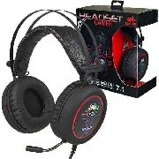 Headset Gamer Knup 7.1 Kp-401 C/ Led Deep Bass