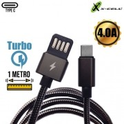 Cabo Tipo-C 4.0A Turbo X-cell xc-cd-53