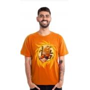 Camiseta Clube Mix Goku Super Saiajin
