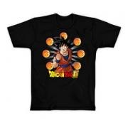 Camseta Clube Mix Goku Esferas Dragão