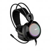 Fone gamer headset ph290 warrior - thyra- pc vermelho - rgb