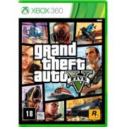 Jogo Grand Theft Auto Gta V - Xbox 360