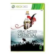 Jogo Great Batlles Medieval - Xbox 360 (seminovo)