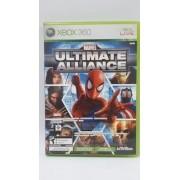 Jogo Marvel Ultimate Alliance Xbox360 Original