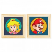 Kit Pôster Chassi Mario and Peach