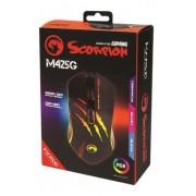 Mouse Marvo Gamer Scorpion M425g 7 Botões 3200 Dpi Led Rgb Marvo