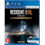 Jogo Resident Evil 7 (Gold Edition)(Seminovo) - Ps4