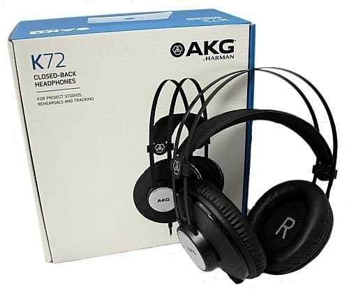 Fone De Ouvido Akg K72 - Headphone Monitor Profissional