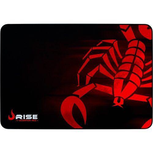 Mousepad Gamer Rise Mode Scorpion Red Rg-mp-05-sr