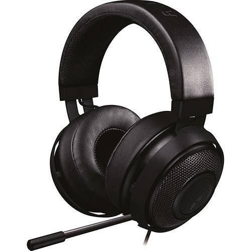 Headset Razer Kraken Com Microfone Black