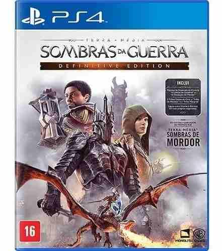 Sombras Da Guerra Definitive Edition - PS4