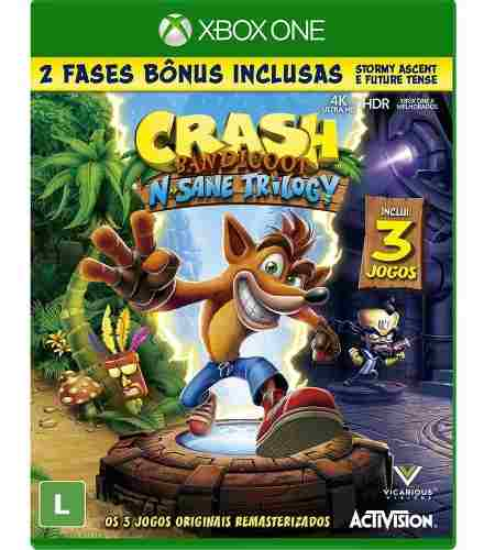 Crash Bandicoot N Sane Trilogy - XboxOne