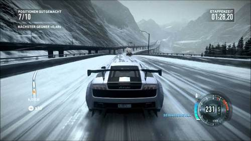 Need For Speed The Run - Xbox360