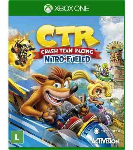 Jogo Crash Team Racing Nitro Fueled – XboxOne